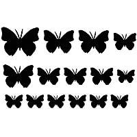 Autoaufkleber Schmetterling - Motiv 09 - 20er