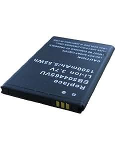 Batterie pour SAMSUNG GT-I5801, 3.7V, 1200mAh, Li-ion