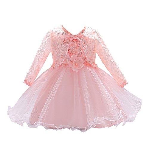 LZH Baby Mädchen Kleider Formale Taufe Prinzessin Hochzeit Geburtstag Kleid