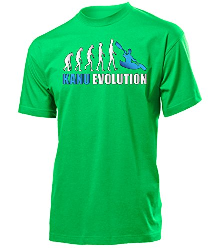 Kanu Evolution 5907 Herren T-Shirt (H-Kellygreen-Weiss-Blau) Gr. XL
