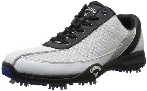 Callaway, Scarpe da golf uomo Bianco Bianco/nero
