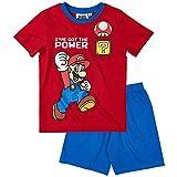 Super Mario - Pijama dos piezas - para niño rojo rosso 12 años