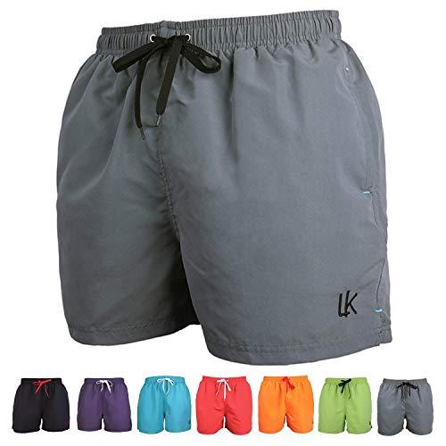 Da Uomo Designer Pierre Cardin LEGGERA COMODA Logo shorts da bagno taglia S-XXL
