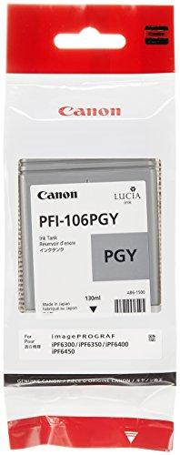 Canon 6631B001 Tintenpatrone PFI-106PGY, foto grau