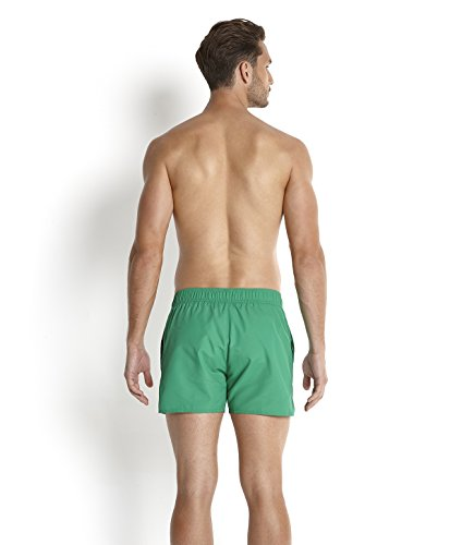 Speedo Herren Retro Freizeit-Watershorts 14 zoll Grün (Venom/Aquarium/White)