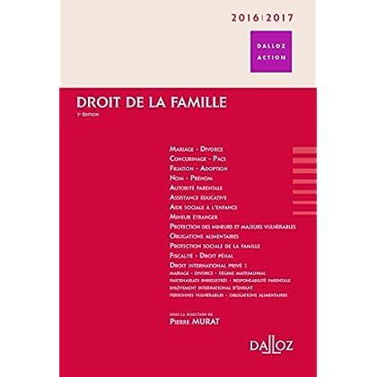 Droit de la famille 2016/2017 - 7e éd.