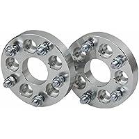 primecooling 25mm spessore Distanziali ruota Adattatori 5lug 5X 100a 5X 114.312x 1,25CB = 67.1mm (Confezione (Ruota Stud Adattatori)