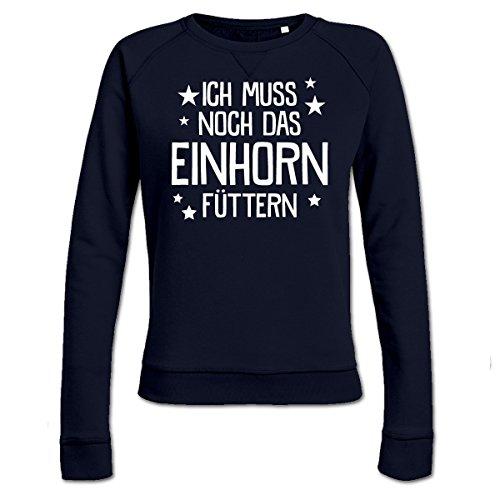 Ich-muss-noch-das-Einhorn-fttern-Frauen-Sweatshirt-by-Shirtcity