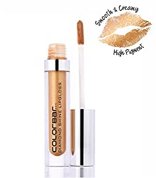 Colorbar Diamond Shine Lipgloss, Flossy Gold 012, 3.8ml