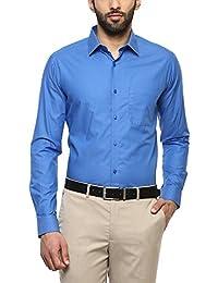 Stop by Shopper Stop Mens Slim Collar Self Pattern Shirt