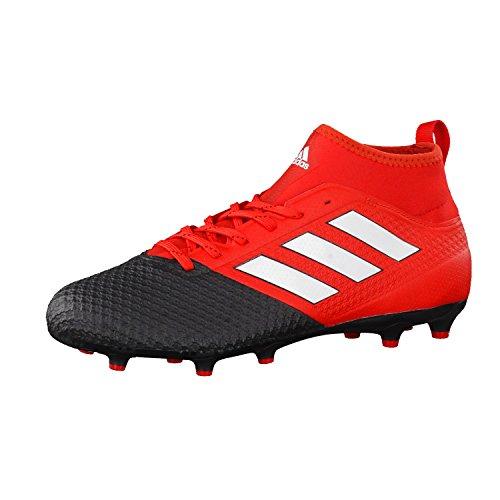 Adidas Ace 17.3 Primemesh Fg, Scarpe per Allenamento Calcio Uomo, Multicolore (Red/Ftwwht/Cblack), 42 2/3 EU