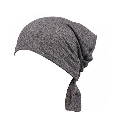 Ever Fairy 3Farben Pack Pre Gebunden Kopf Schal hat Ethnic Print Turban mit Kopfbedeckungen Frauen Stretch Blume muslimische Kopftuch Gr. One size, 1 PIECE F