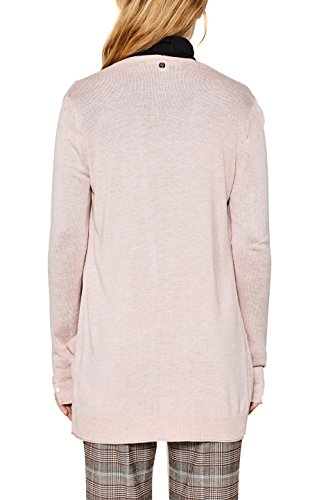 ESPRIT Damen Strickjacke Rosa (Light Pink 2 691)