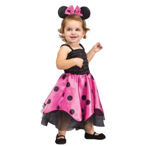 Fancy Me Baby Kleinkind Mädchen minnie mouse Tier Halloween Kostüm Kleid Outfit 12-24 Monate (Minnie Mouse-kleinkind-halloween-kostüm)