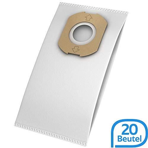 20 Staubsaugerbeutel geeignet für Omega Contur 1400 Staubsauger, Beutel-Typ OM 104m inkl. Filter