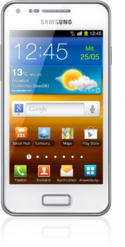 Samsung Galaxy S Advance I9070 Smartphone (10,2 cm (4 Zoll) AMOLED-Touchscreen, 5 Megapixel Kamera, Android 2.3, NFC) ceramic-weiß Samsung 8 Gb Mp3
