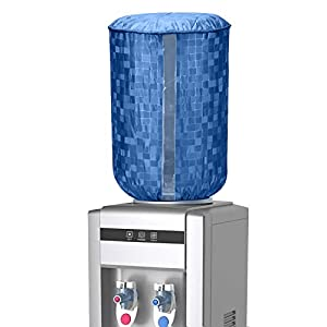 E-Retailer™ PVC Water Dispenser Bottle Cover with Water Level Indication (Size: Standard, Color: Blue, for 20 LTR)