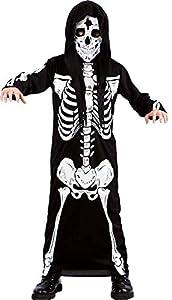 Carnival Toys Alivio de la Esqueleto tgvii en Bolsa C/Gancho Trajes Completo 396,, 8004761651190