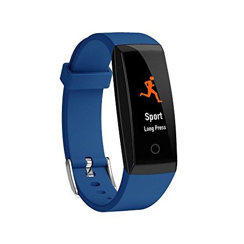 Bluetooth Smart-watch Armband-uhr, Frauen Männer Intelligente Fitness Tracker, Sport Schrittzähler Herzfrequenzmesser Schlaftracker Weibliche Physiologieerinnerung für iPhone 7/7 Plus 8/8 Plus iPhone X Samsung S8/S8 Plus S9/S9 Plus Huawei Xiaomi Andere Smartphone