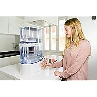 ECO-DE Torre Jarra de Agua purificadora, 8 Sistemas de filtrado, Filtro cerámico