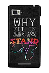 The Fappy Store stand out Back case LENOVO K910