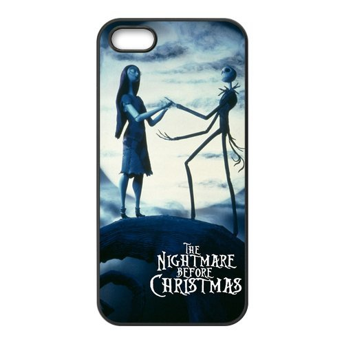 Coque de protection en tPU pour iPhone 5/5S-the nightmare before christmas coque de protection tablette pour iPhone 5S, silicone soft shell étui de protection pour iPhone 5/5S