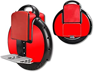 MightySkins Protective Vinyl Skin Decal for Airwheel X3 Self Balancing Electric Unicycle (Solid Red)