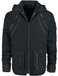 2e3da08b9013d Vixxsin Black Chrome Jacket Winter Jacket Black