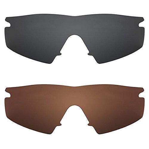 Revant Ersatzlinsen für Oakley M Frame Strike Polarisiert 2 Paar Kombipack K003