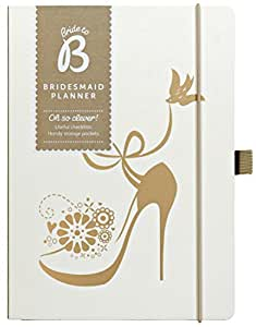 Busy B Bride to B Bridesmaid Planner - White