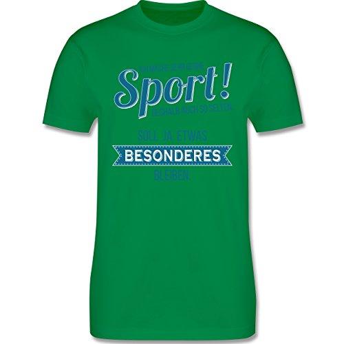 Sonstige Sportarten - Ich mache sehr gerne Sport - Herren Premium T-Shirt Grün