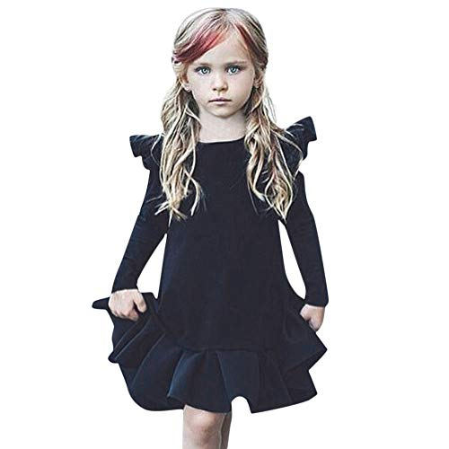 51a7732d3 Amlaiworld Vestidos niñas, Vestido Infantil de Princesa con Volantes ...