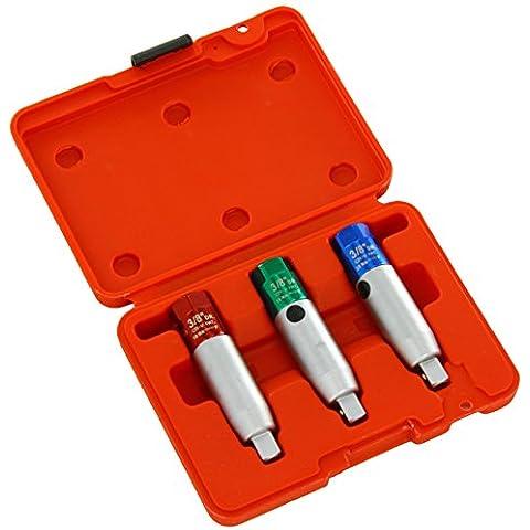 Sealey sx0371Spark y Glow Plug limitador de par, 3/8Square Drive, juego de 3