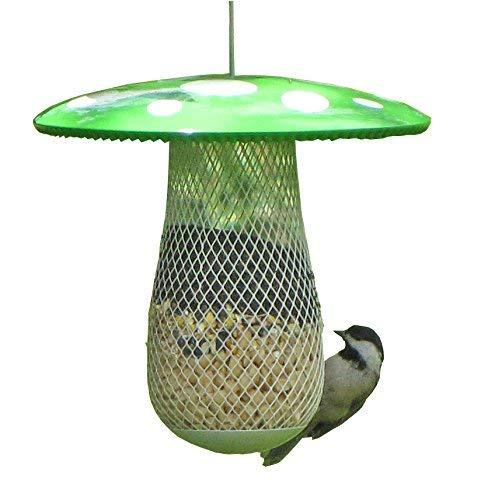 Die beste Futterstation für Wildvögel, die mehr freilebende Vögel anzieht. Füllen Sie sie mit Sonnenblumenkernen, Erdnüssen und Presslingen. Einfaches Aufhängen, Reinigen und Befüllen, ein tolles Geschenk für Freunde und Familie! -