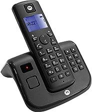 Motorola T211 Cordless Phone with Answering Machine, Digital Display, 200 Hr Standby, Speakerphone, 50 Contact