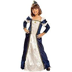 My Other Me Me - Disfraz de dama medieval para niña, 7-9 años (Viving Costumes 201156)