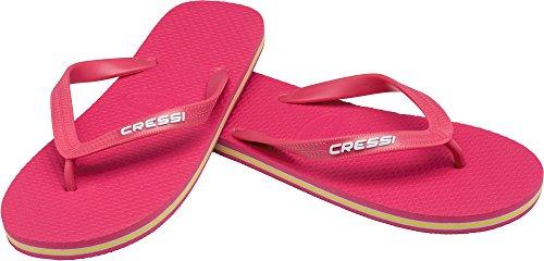Cressi Beach Flip Flops, Ciabatte Infradito per Spiaggia e Piscina Unisex, Rosa, 35/36