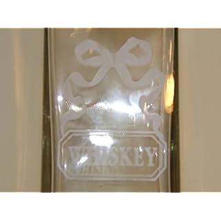 Antic Line Kreationen–Whiskykaraffe Stöpsel Glas Striche Antic Line
