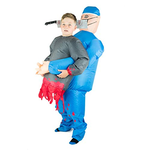 Arzt Kids Kostüm Zombie - Bodysocks® Inflatable Surgeon Lift You Up Costume (Kids)
