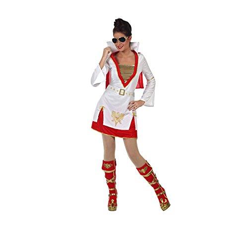 Imagen de disfraz de rockero para mujer