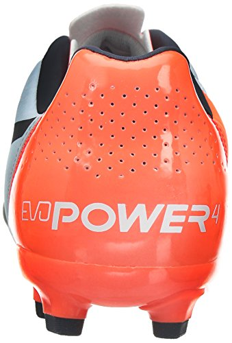 Puma Evopower 4.2 Ag, Chaussures de Football homme Blanc (White/Total Eclipse/Lava Blast)