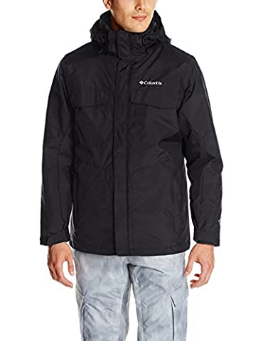 Columbia Men's Bugaboo Interchange Jacket - Black, Small