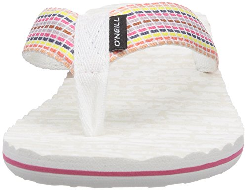 Oneill Ftw Evie, Infradito Donna Multicolore (mehrfarbig (poudre 1030 Whi))