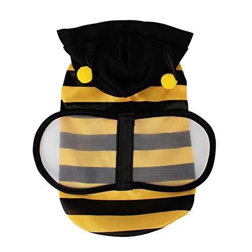 UKCOCO lustige Kleidung für Hunde, Biene für Hunde, Katzen, Halloween Kostüm Weihnachten für Haustiere - Größe XS -