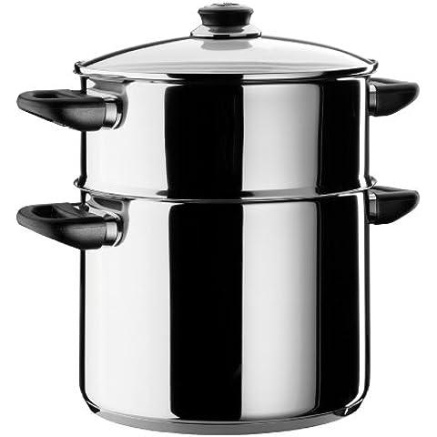 Beka 12030244 - Couscoussiera Polo in acciaio INOX, diametro: 24 cm