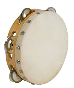 "Atlas DC-705 E Tambourin avec cymbales simples Diamètre 6"" Naturel"