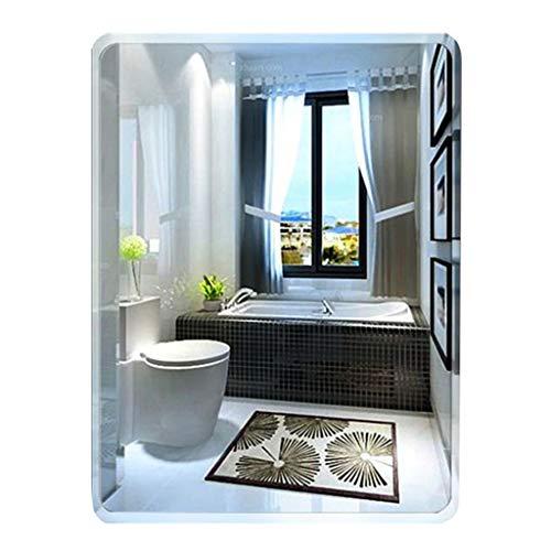 Kosmetikspiegel Rechteckig Wand Frameless Abgeschrägten Spiegel Bad Eitelkeit Dressing Wohnzimmer Badezimmer Moderne Dekorative Schlafzimmer Flur (40 cm x 60 cm) - Modernes Bad Eitelkeit
