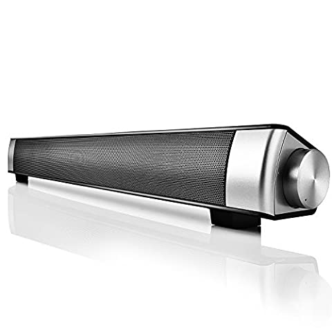 Enceinte Portable, Mini Double Stéréo Haut-Parleurs sans fil Bluetooth Hifi Enceinte et Kit Main Libre TF Carte, 2 Haut-parleurs de 5W