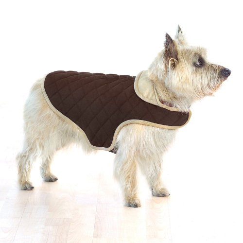 Company of Animals Dog Gone Smart gesteppt Jacke, 20, braun