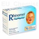 Rhinomer 10x filtres de rechange/supplémentaire avec pointes Only–Peut être utilisée avec Rhinomer Aspirateur nasal (vendu séparément).